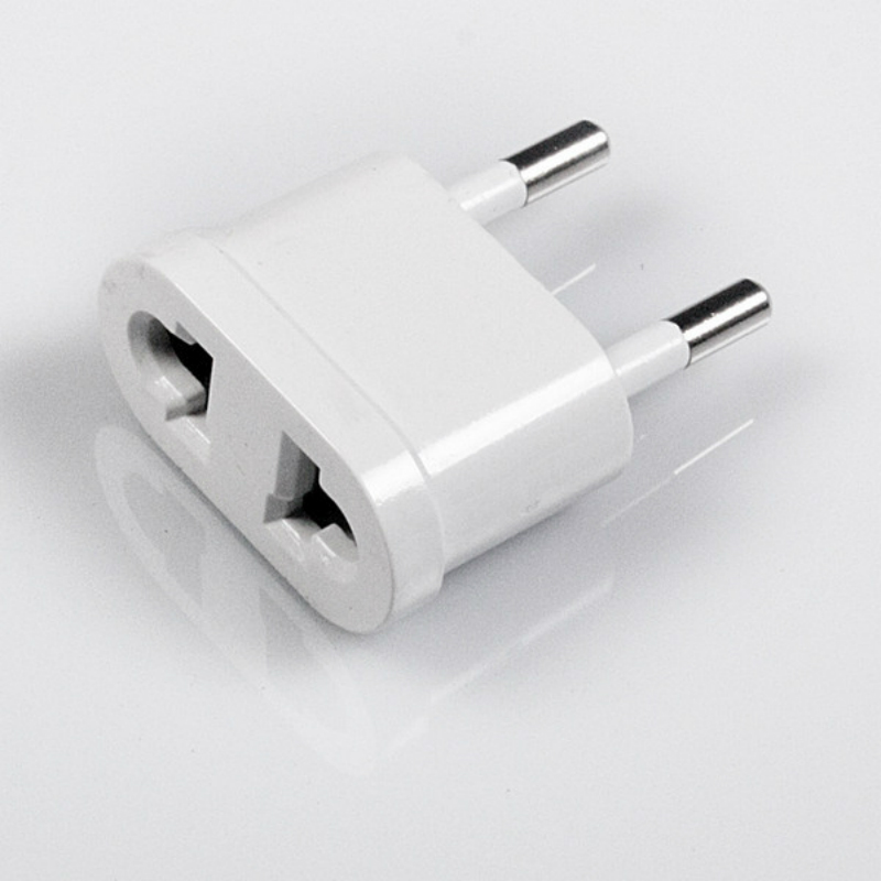 3 tipo WN-20 eua (eua) para a ue (europa) 250 v ac 10a 1000 w carregador de viagem parede ac adaptador de tomada de alimentação para eua conversor branco soquete