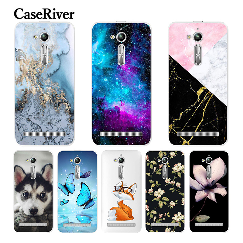 Caseriver Cover Asus Zenfone Painted Soft-Silicone Cute for Go-Zb500kl-Case TPU