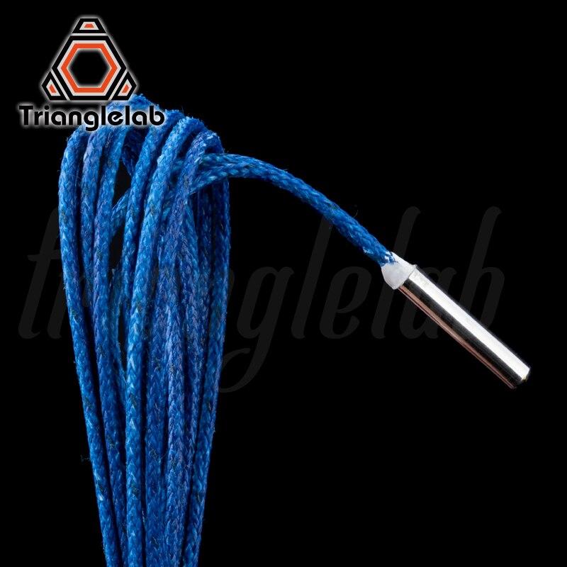ATC trianglelab 280℃ 104GT-2 104NT-4-R025H42G Semitec Termistor Cartucho de Alta temperatura para E3D V6 Vulcão Aquecedor do Bloco