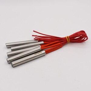 Image 4 - Darmowa wysyłka 12mm rurka ze stali nierdzewnej średnica grzałka patronowa 40 200mm długość 220V elektryczny Element grzejny grzejnik rurowy