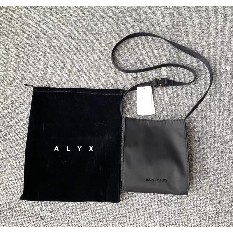 2020 Alyx Bag HipHop Street Wear  Metal Button Alyx Bags Men Women 1:1 High Quality  Cortex 1017 9SM