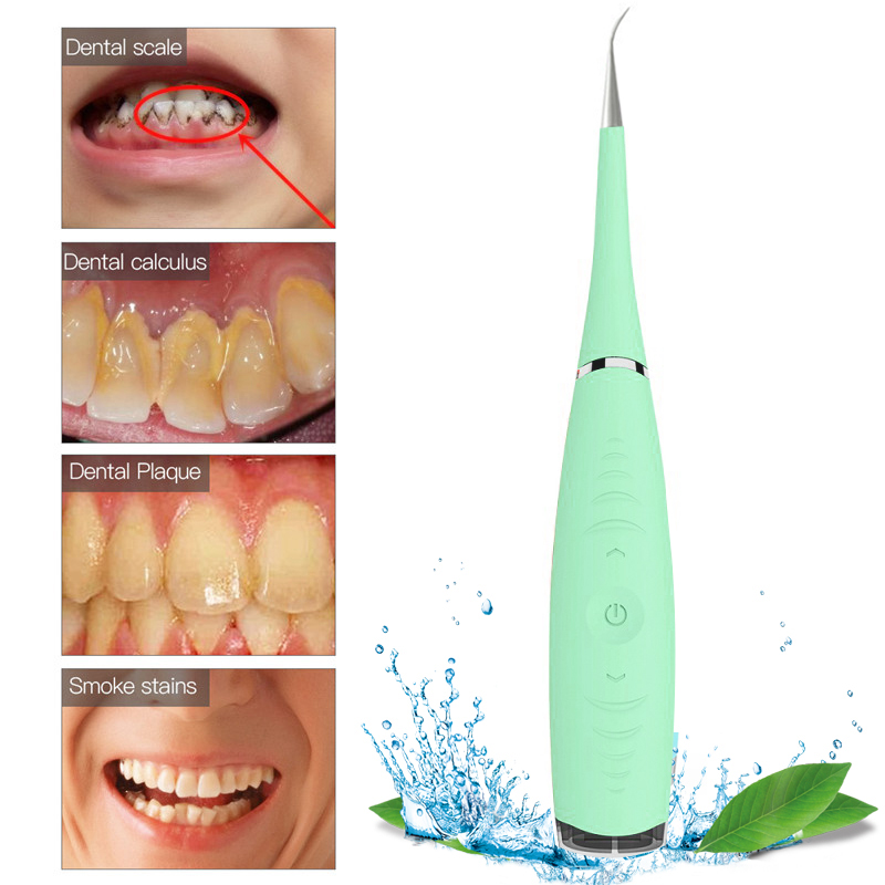 Image 4 - Electric Vibration Teeth Whitening Cleaning Serum Removes Plaque Stains Tartar Dentist Dental Tools Oral Hygiene Tooth Whitening-in Teeth Whitening from Beauty & Health