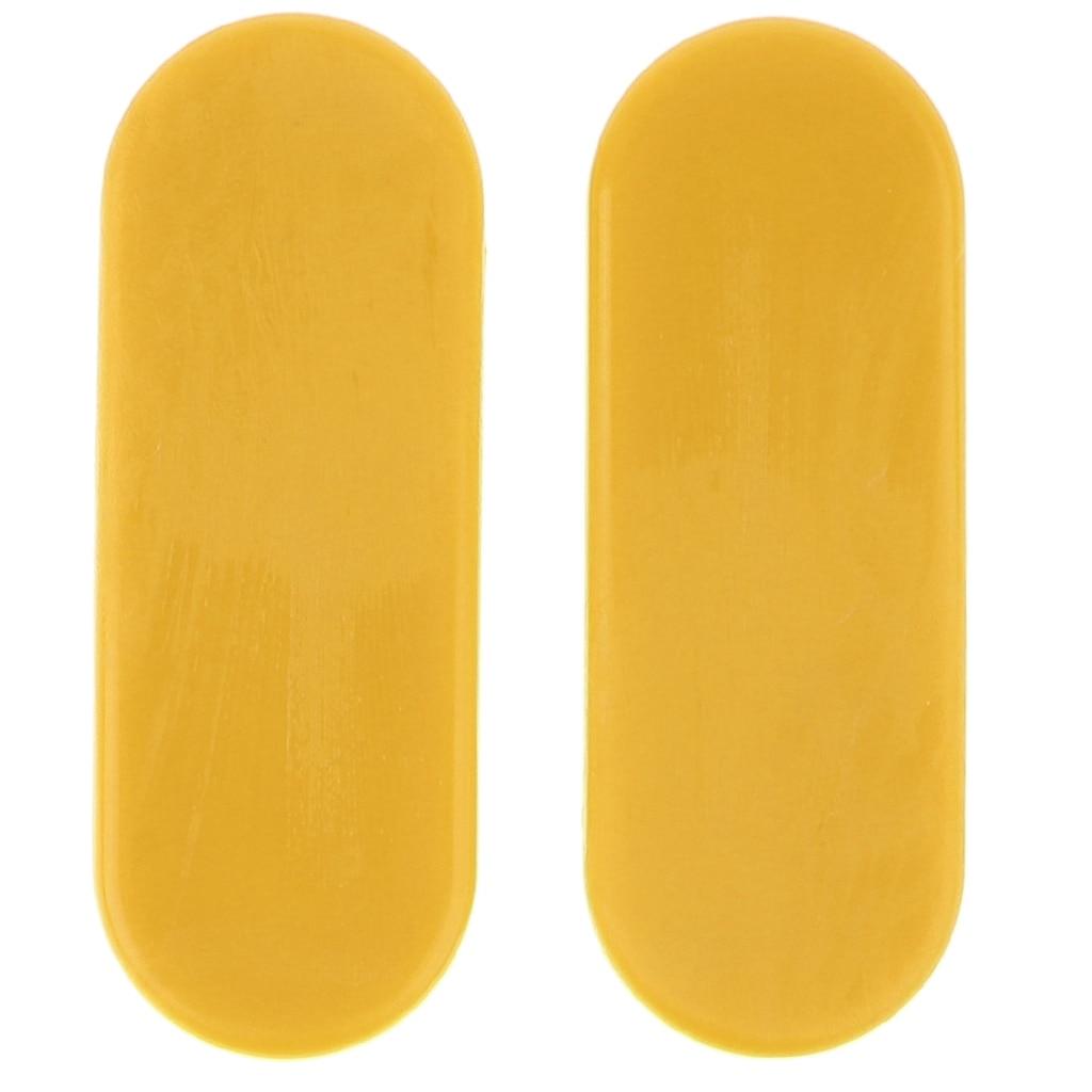 4pcs Replacement Skateboard Slider Palm Gloves Blocks Pucks Anti-vibration