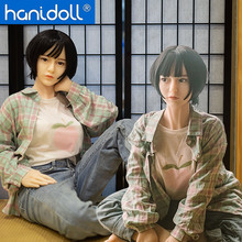 Hanidoll Silicone Sex Dolls 158cm Japanese Love Doll Metal Skeleton TPE Full Sized Realistic Vagina Breast Masturbator doll