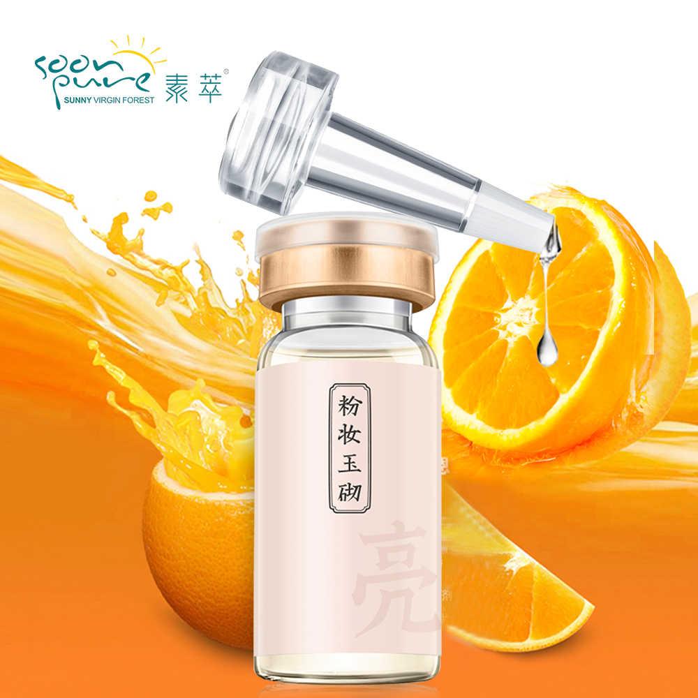 SOONPURE فيتامين C المصل كريم تبييض الجلد تشديد الظلام بقعة إزالة النمش رقطة تبييض البشرة علاج الوجه