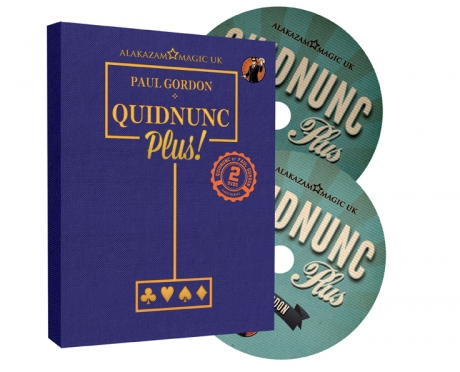 2017 Quidnunc Plus 1-2 By Paul Gordon-Magic Tricks