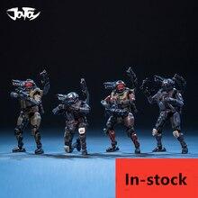 JOYTOY figurine militaire CYBORG, CORPS militaire, 4 pièces/ensemble pour Fans, cadeau de vacances, nouvelle boîte, 1/25 7.6cm