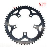 2 pçs/set Ferro Bicicleta Roda Dentada Roda Chain 42 T/52 T Para Tongsheng TSDZ2 Peças Do Motor|Correia da bicicleta| |  -