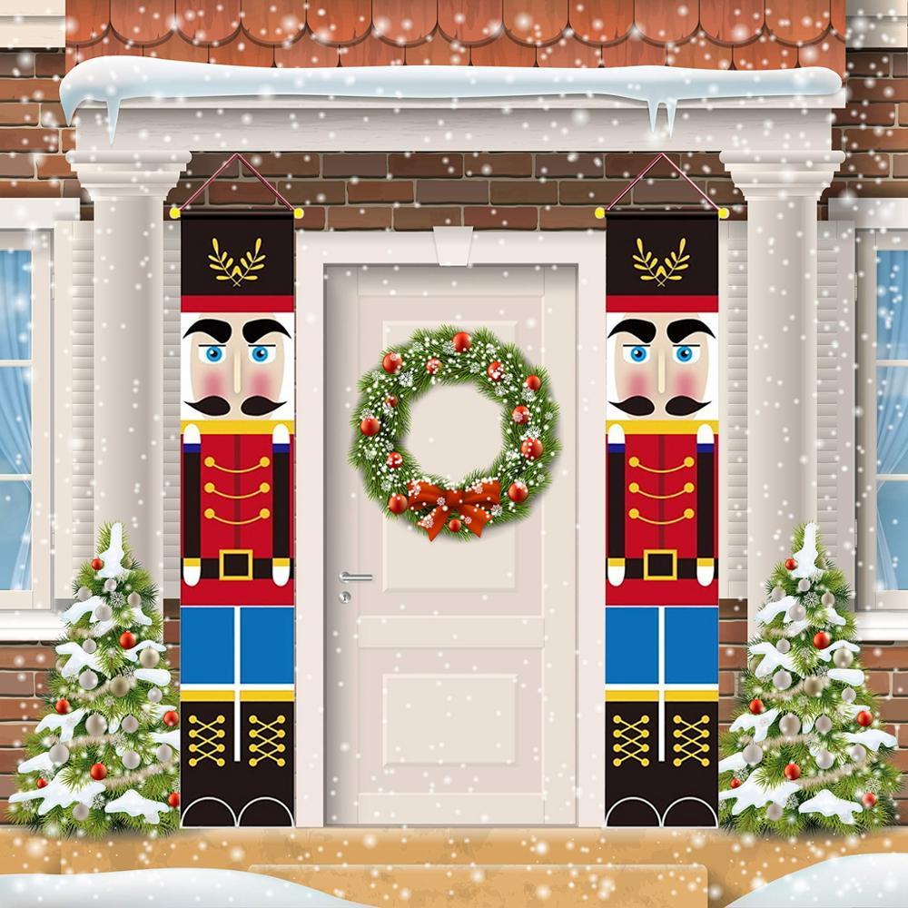 Feliz adornos navideños para el hogar 2020 soldado Banner ornamentos decoración para fiesta de Navidad regalos de Feliz Año Nuevo 2021 Navidad 40 unids/lote 50mm Bola de lámpara de cristal transparente con agujero, atrapasoles de ventana adornos de Navidad colgantes, bola de cristal facetada