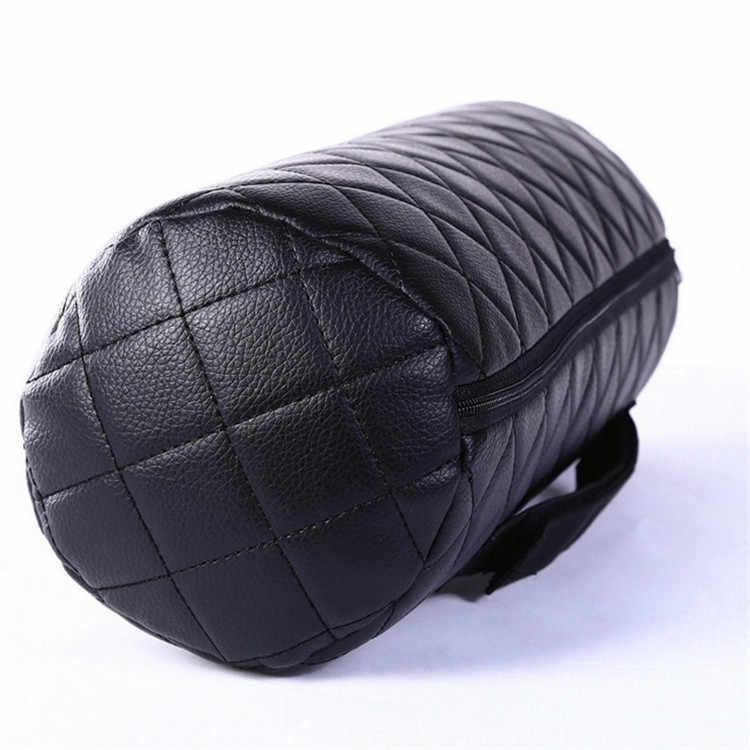 40*12 см Автомобильная внутренняя продукция обивка шеи Подушка круглая длинная подголовник автомобиля Подушка для поддержки головы авто