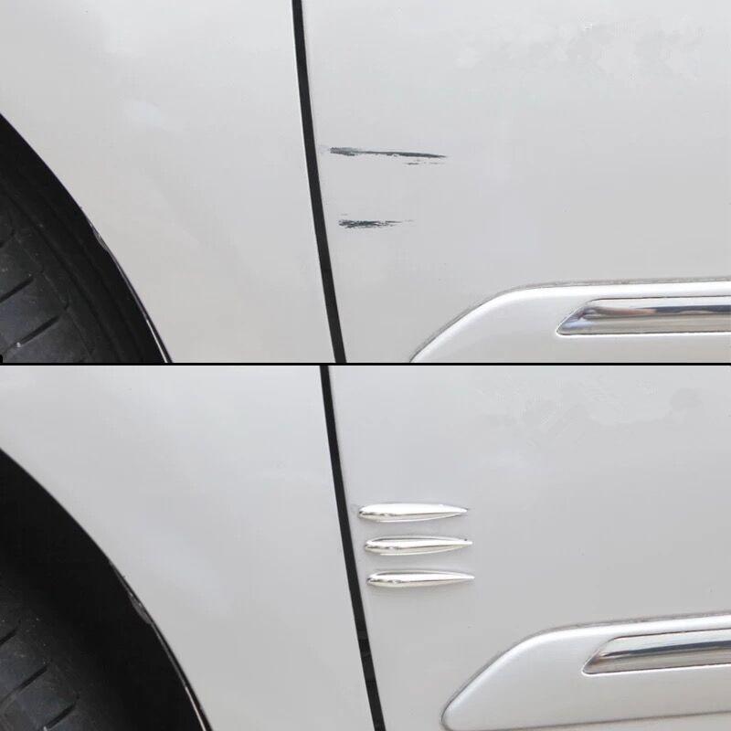 12Pcs/Lot Car Door Edge Guard Car Styling Mouldings Strip Bumper Protector Anti-Scratch Strip Corner Door Protector Moldings