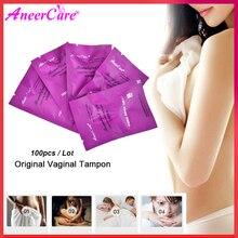 100pcs สมุนไพรช่องคลอด tampons จีน Swab ปล่อยสารพิษ feminine hygiene gynaecology Pad tampons ชีวิตที่สวยงาม