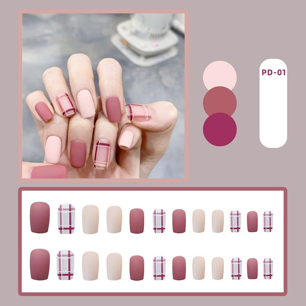 Накладные наклейки для ногтей Пластыри съемный пластырь на одну