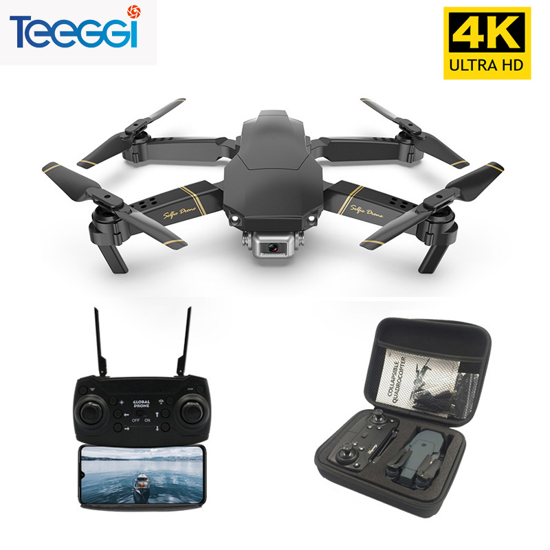Teeggi M65 RC Drone With 1080P HD Camera FPV WIFI Altitude Hold Selife Drone Folding RC Quadcopter VS XS816 M69 E58 Dron