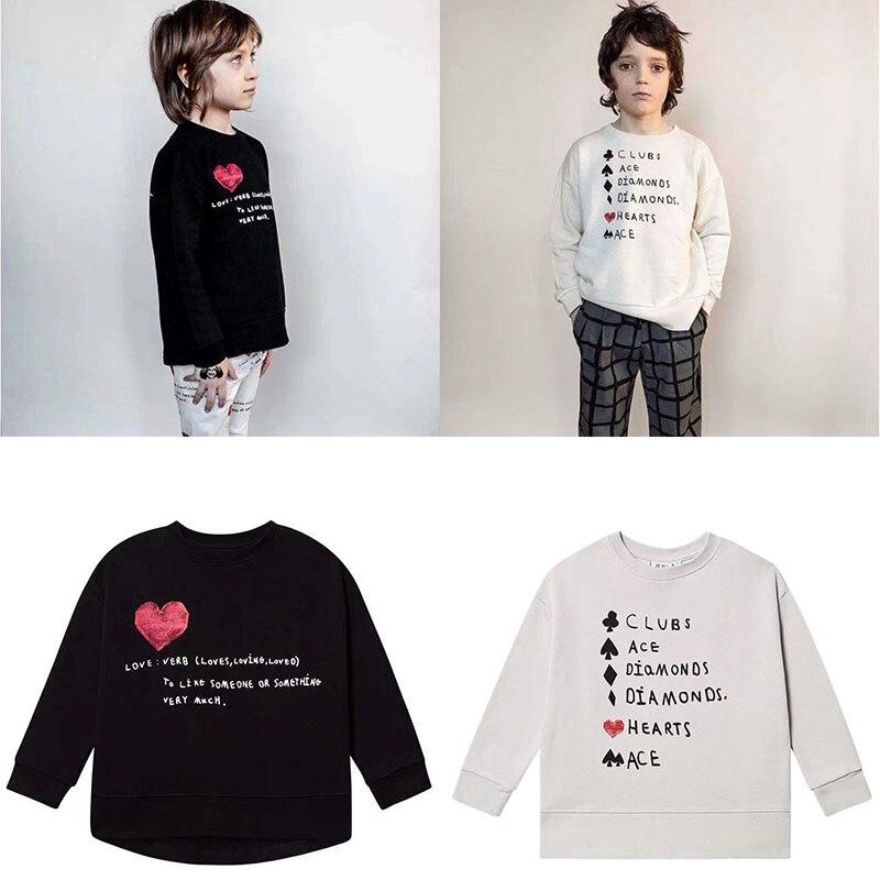 Beau Loves 2019 Kids Winter Sweatshirt Boys Sweatshirts Toddler Hoodies Girl Hoodie Kid Clothes Children Fall Pullover Tops