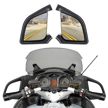 Motorcycle Rear View Mirror For BMW R1200RT R1200 RT 2005-2012 2011 2010 2009 2008 2007 2006 Motorbike accessories Left Right car left right heated wing rear mirror blue glass for bmw x3 e83 2004 2005 2006 2007 2008 2009 2010 51163418485 51163418486