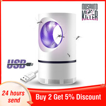 Usb Led Mosquito Killer Lamp Anti Mosquito Repellent Electric Mosquito Killer Lamp Mosquito Trap Insect Killer