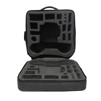 Hard Suitcase Storage Case for DJI RoboMaster S1 Educational Robot Portable Carrying Case Shockproof Protection Bag