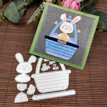 Stamp Cutting-Dies Stencil Scrapbooking Paper-Card Embossing-Decoration Easter Metal