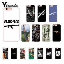 Yinuoda AK47 Gun Custom Photo Soft Phone Case For iPhone 8 7 6 6S Plus X XS MAX 5 5S SE XR Cover(China)