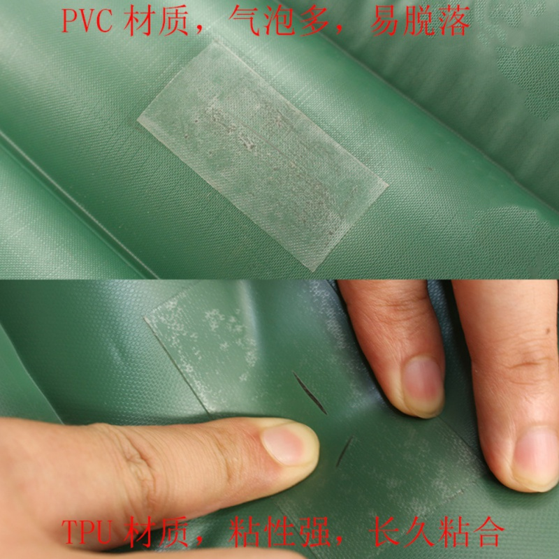 Self Adhesive Waterproof TPU Puncture Repair Patch Sticker For Tent Air Bed Inflatable Toy Rubber Boat Dinghies