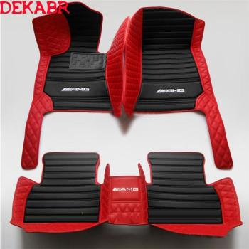 HOT Car Floor Mat For 1996-2020 Mercedes-benz C-E -S -GLC-GLA-CLA -GLE -CLS-class AMG W203 W204 W205 Car Accessories Styling image