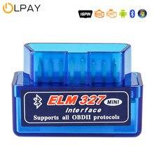 Elm327 obd2 scanner código v1.5 v2.1 mini bluetooth obd2 automóvel detector leitor de código obd2 scanner carro ferramentas de reparo diagnóstico