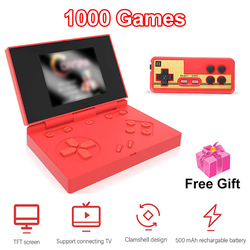 1000 games Retro Portable Mini Handheld Game Console 3.0 Inch Color TFT Screen Game Player for Kids Gift Video Game Console