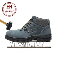 Hohner Security Shoes Indestructible for Men Safety Boots Work Steel Toe Cap Breathable Working Footwear