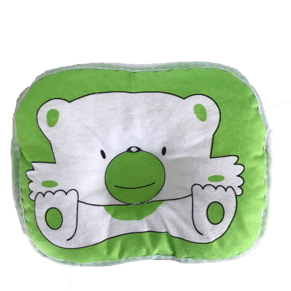 OUTAD Bear Pattern Pillow Newborn Infant Baby Support Cushion Pad Prevent Flat Head Hot Selling