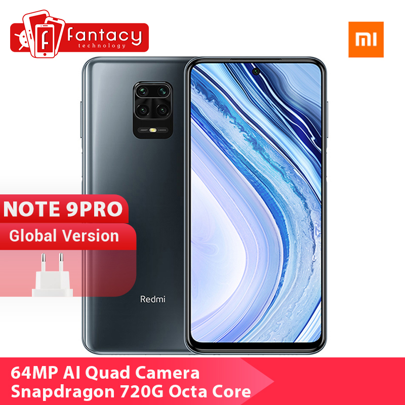 Global Version Xiaomi Redmi Note 9 Pro Smartphone 64G 128GB Snapdragon 720G 64MP Quad Cams 5020mAh Mobile Phones 30W SuperCharge|Cellphones| - AliExpress