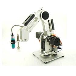 0.5kg charge 3 axes manipulation palettisation industrielle Robot bras bureau petit enseignement bras robotique apprentissage 0.5KG quatre DOF bricolage pièces