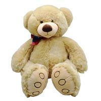 50cm Large Bear Plush Toy Lovely Huge Stuffed Soft Bear Wear Bowknot Bear Kids Toy Birthday Gift For Girlfriend