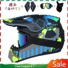 2020 novo capacete da motocicleta fora de estrada homens e mulheres motocross capacete rosto cheio kask downhill casque moto cruz enfant