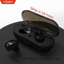 wireless earphones Touch Mini Headphones Bass Headset with Microphone Phone Mobile Phone Headset for Xiaomi iPhone iOS Android цена в Москве и Питере