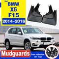 OE стиль передние и задние литые Брызговики подходят для 2014-2016 BMW X5 F15 брызговик брызговика брызговиков комплект аксессуаров
