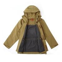 Tactical Trench coat winter outdoor hardshell waterproof army fan coat soft shell military outwear Windbreaker Fleece jacket