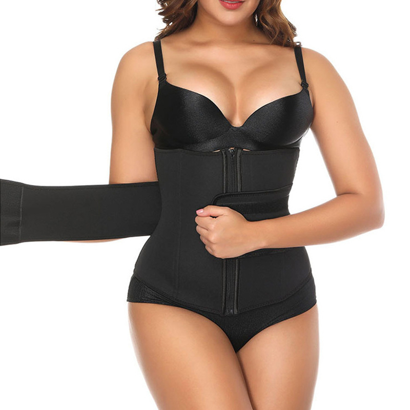 High Quality Women's Shapewear Extra Strong Polyester Waist Trainer Girdle Elastic Belt Waist Neoprene Trimmer Long Torso Corset