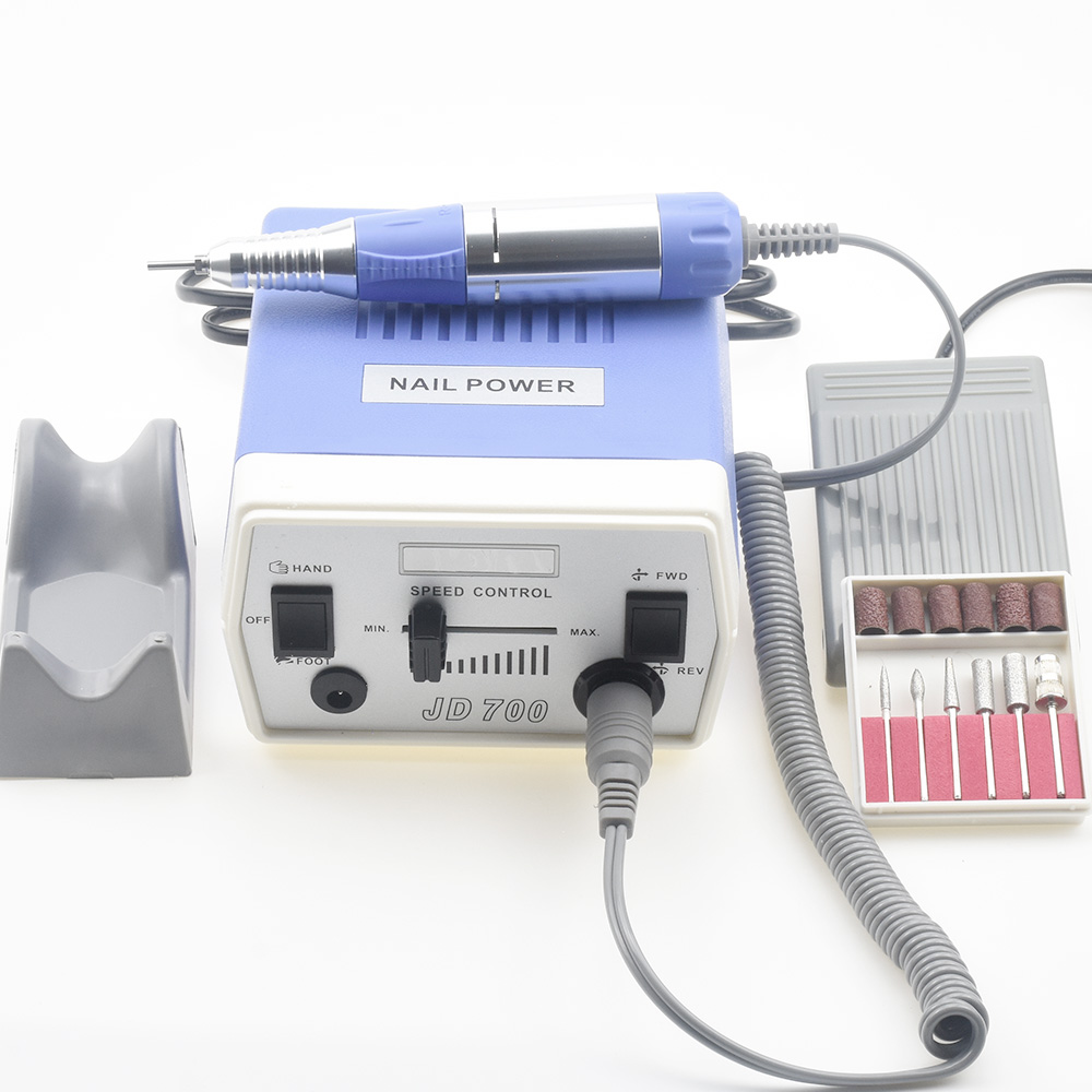 35W 35000RPM Pro Electric Nail Drill Machine Equipment Manicure Pedicure Files Nail Art Drill Pen Machine Set Tools