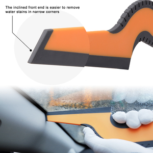Image 2 - FOSHIO uchwyt gumowy skrobak czyszczenie samochodu narzędzie szklane okno folia barwiąca zainstaluj czystą ściągaczkę do usuwania wody akcesoria do mycia