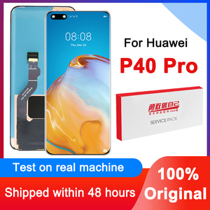 Image 1 - 100% Original 6.58 Display Replacement For Huawei P40 Pro LCD Touch Screen Digitizer Assembly For Huawei P40Pro Repair Parts