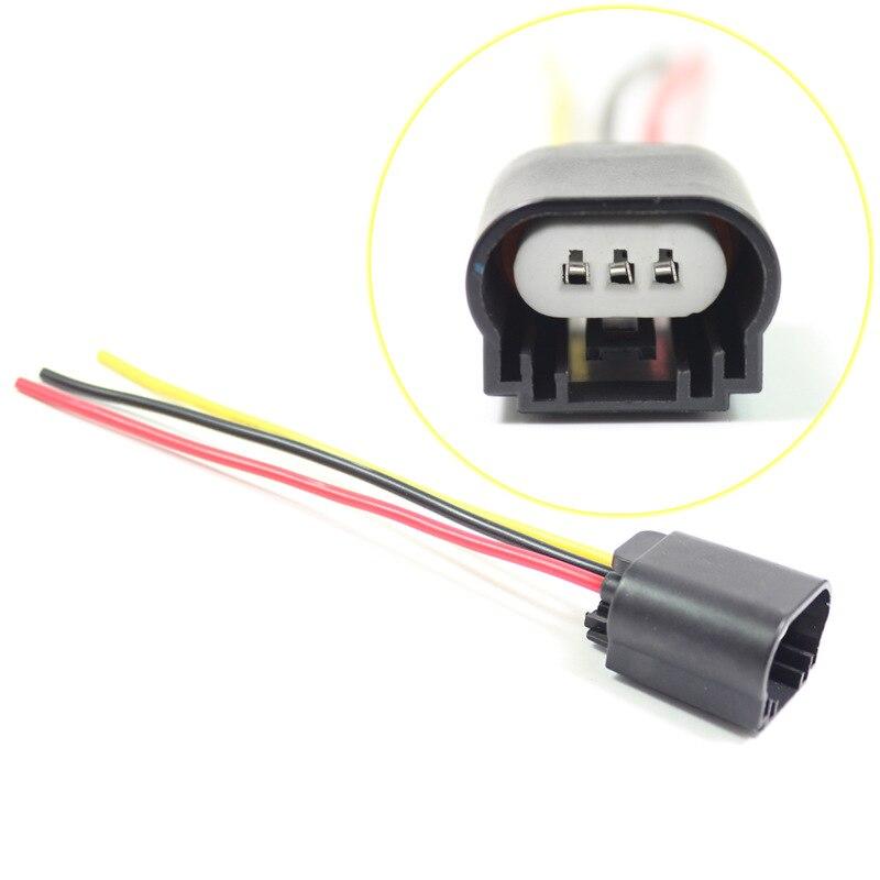 H13 Automobile Headlamp Socket Ceramic Automobile Bulb Socket Bulb Plug Female Insert Wiring Harness