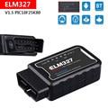 ELM327 Scanner V 1,5 Bluetooth PIC25K80 Diagnose Fehler Code Tester Für Nissan X-Trail 350Z Z33 Maxima OBD Fahrzeug 2001-jetzt