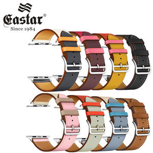 Band-Series Leather-Loop Sport-Bracelet Apple Watch Eastar 40mm 38-Mm-Strap 44mm 4/5-Band