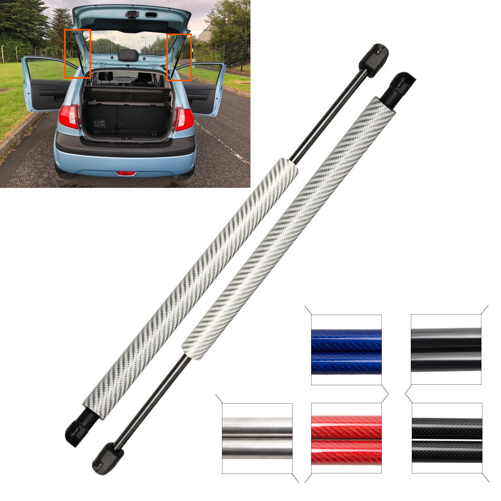 PA Hatchback 2007-2015 Shock-absorbing support pillar Car support rod 2pcs Car Rear Tailgate Boot Gas Spring Struts Prop Lift Support GSHI0515-A fit for HYUNDAI i10
