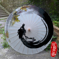 JPY Cosplay Paper Umbrella Handmade Wedding Decoration Wooden Clothing Accessorie Japanese Paper Umbrella Drop shipping