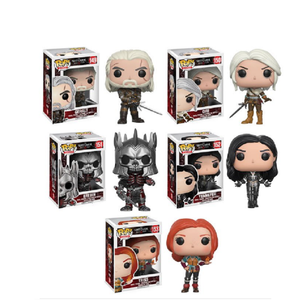 FUNKO POP The Witchers CIRI & GERALT 151# Vinyl Action Figure Collection Model Toys for Children Birthday Gift