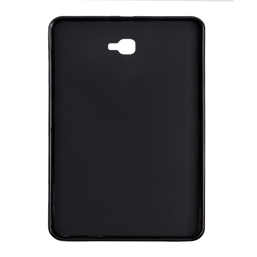 QIJUN Tab A 10.1 Silicone Smart Tablet Back Cover For Samsung Galaxy Tab A A6 10.1 Inch 2016 SM-T580 T585 Shockproof Bumper Case