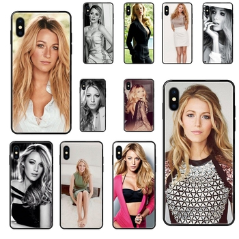 Black Soft TPU Phone Cover For Galaxy Note 4 8 9 10 20 Plus Pro J6 J7 J8 M30s M80s Ultra J600 J730 J810 Gossip Girl Blake image