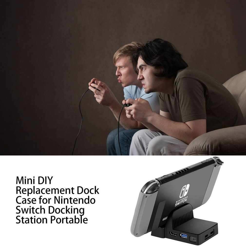 lowest price Mini DIY Replacement Dock Case for Nintendo Switch Docking Station Portable switch nintendo nintendo switch docking station 2020